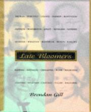 Cover of: Late bloomers. | Brendan Gill