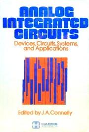 Analog integrated circuits