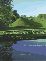 Cover of: Paradise transformed
