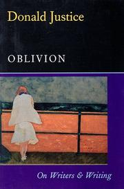 Cover of: Oblivion