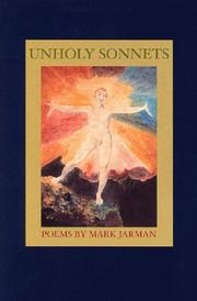 Cover of: Unholy sonnets: poems