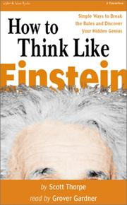 Cover of: How to Think Like Einstein |