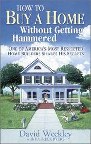 Cover of: How to buy a home without getting hammered |