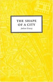 Cover of: The Shape Of A City