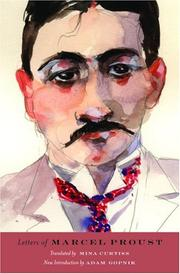 Cover of: Letters of Marcel Proust