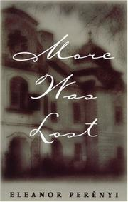 Cover of: More Was Lost