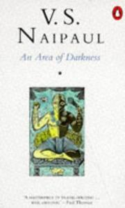 Cover of: An area of darkness