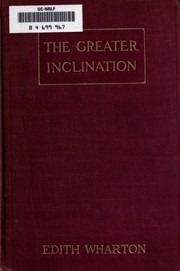 Cover of: The Greater Inclination
