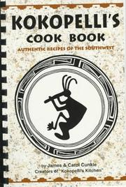 Cover of: Kokopelli's cook book