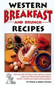 Cover of: Western Breakfast and Brunch Recipes | Bruce Fischer