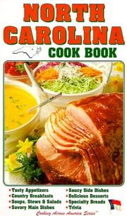 Cover of: North Carolina Cook Book (Cooking Across America)