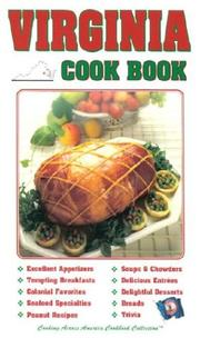 Cover of: Virginia Cook Book (Cooking Across America Cook Book Series,)