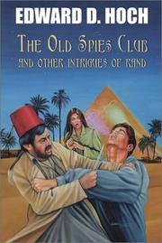 Cover of: The old spies club and other intrigues of Rand