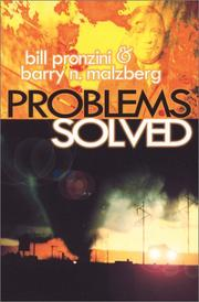 Cover of: Problems solved