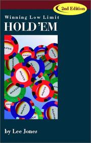 Winning low-limit hold'em by Lee Jones