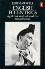 Cover of: English Eccentrics a Gallery of Weird