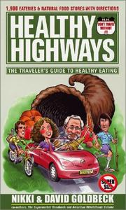 Cover of: Healthy highways