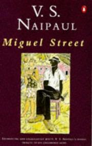 Cover of: Miguel Street | V. S. Naipaul