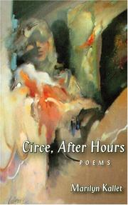 Cover of: Circe, after hours