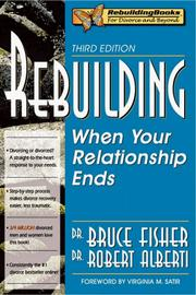 Cover of: Rebuilding | Bruce Fisher