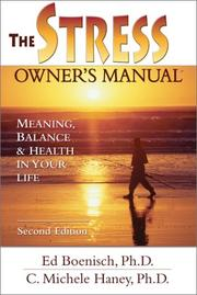 Cover of: The Stress Owner