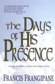 Cover of: The Days of His Presence
