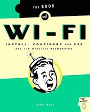 Cover of: The Book of Wi-Fi | John Ross