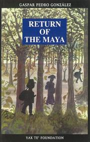 Cover of: Return of the Maya