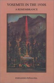 Cover of: Yosemite in the 1930s | Fernando PenМѓalosa