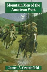 Cover of: Mountain men of the American West