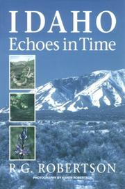 Cover of: Idaho echoes in time | R. G. Robertson