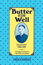 Cover of: Butter in the well