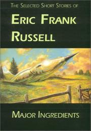Cover of: Major Ingredients | Eric Frank Russell