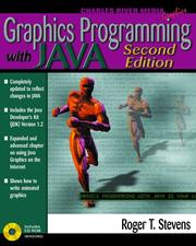 Cover of: Graphics Programming With Java Second Edition/Book and Cd-Rom (Graphics Series) | Roger T. Stevens