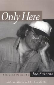 Cover of: Only here