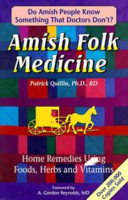 Cover of: Amish Folk Medicine