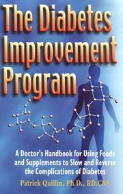Cover of: The diabetes improvement program