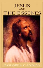 Cover of: Jesus and the Essenes