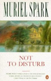 Cover of: Not to disturb