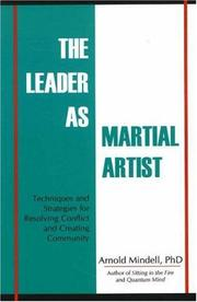Cover of: The Leader As Martial Artist