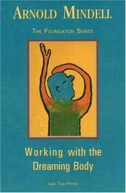 Cover of: Working with the dreaming body