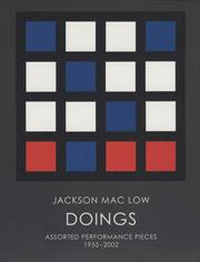Cover of: Jackson Mac Low