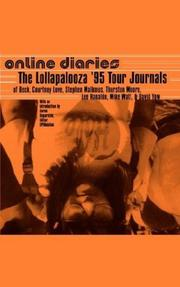 Cover of: Online Diaries | Beck