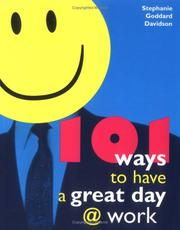 Cover of: 101 ways to have a great day @ work