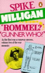 "Cover of: ""Rommel?""-""Gunner who?"": a confrontation in the desert"