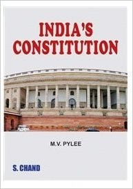 India's Constitution by M.V. Pylee