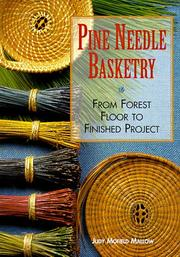 Cover of: Pine needle basketry