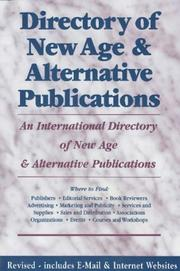 Cover of: Directory of New Age & Alternative Publications