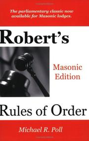 Cover of: Robert