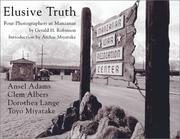 Cover of: Elusive truth | Gerald H. Robinson